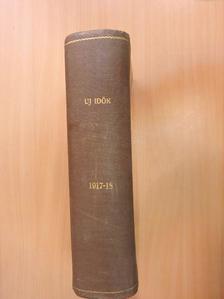 Andorffy Mária - Uj Idők 1917-1918. (nem teljes évfolyam) [antikvár]