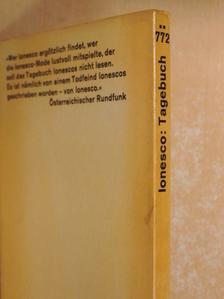 Eugéne Ionesco - Tagebuch [antikvár]