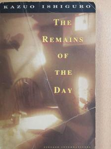 Kazuo Ishiguro - The Remains of the Day [antikvár]