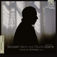 SCHUBERT - NACHT UND TRAUME CD MATTHIAS GOERNE, ALEXANDER SCHMALCZ