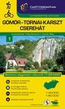 """Cartographia Kiadó - GÖMÖR-TORNAI-KARSZT TURISTATÉRKÉP 1. 1:40000 """"SC"""""""