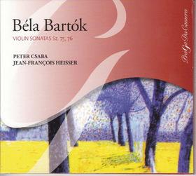 Bartók Béla - VIOLIN SONATAS CD CSABA PÉTER, JEAN-FRANCOIS HEISSER