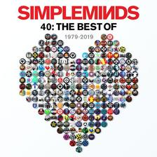 SIMPLE MINDS - FORTY:THE BEST OF SIMPLE MINDS - CD
