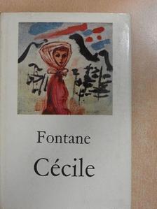 Theodor Fontane - Cécile [antikvár]