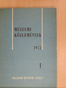 Éri István - Múzeumi Közlemények 1973/1. [antikvár]