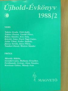 Ács Margit - Újhold-Évkönyv 1988/2 [antikvár]