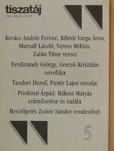 Bedecs László - Tiszatáj 2001. május [antikvár]