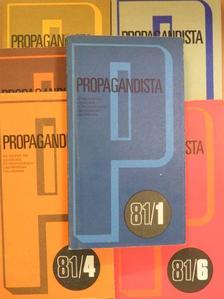Benke József - Propagandista 1981/1-6. [antikvár]