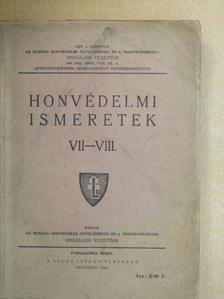 Ajtay Endre - Honvédelmi ismeretek VII-VIII. [antikvár]