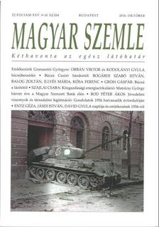 MAGYAR SZEMLE - 2016. OKTÓBER