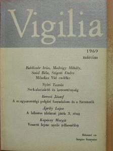 Bittei Lajos - Vigilia 1969. március [antikvár]