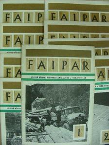 Bakay István - Faipar 1973. (nem teljes évfolyam) [antikvár]