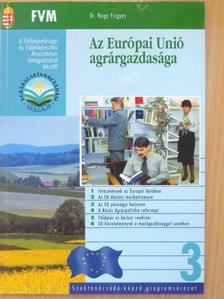 Varga Gyula - Az Európai Unió agrárgazdasága [antikvár]