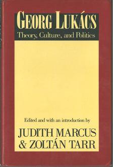 Judith Marcus, Tarr Zoltán - Georg Lukács [antikvár]