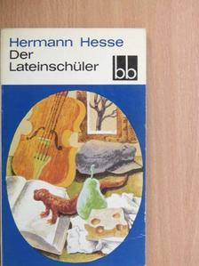 Hermann Hesse - Der Lateinschüler [antikvár]