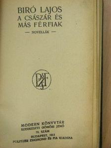 Biró Lajos - Jeles elbeszélők - Műírók és költők [antikvár]