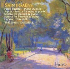 SAINT -SAENS - PIANO QUARTET CD THE NASH ENSEMBLE