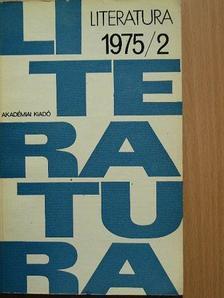 Agárdi Péter - Literatura 1975/2. [antikvár]