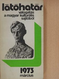Bor Pál - Látóhatár 1973. március [antikvár]