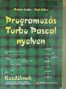 Molnár Csaba - Programozás Turbo Pascal nyelven [antikvár]