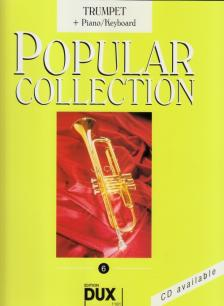 POPULAR COLLECTION 6 TRUMPET + PIANO / KEYBOARD