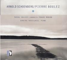 BOULEZ SCHÖNBERG - PASCAL GALLOIS CONDUCTS PRAGUE MODERN CD