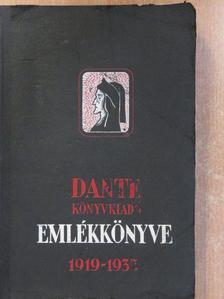 Anatole France - Dante Könyvkiadó Emlékkönyve 1919-1935 [antikvár]