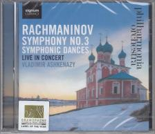 RACHMANINOV - SYMPHONY NO.3,SYMPHONIC DANCES CD