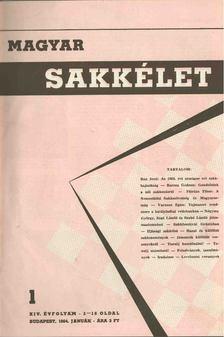 Szabó László - Magyar sakkélet 1964/1965/1966 (teljes) [antikvár]
