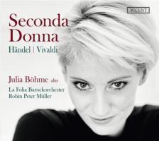 HANDEL, VIVALDI - SECONDA DONNA CD JULIA BÖHME