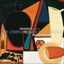DOHNÁNYI - THE COMPLETE SOLO PIANO MUSIC CD VOL.FOUR