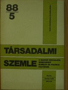 Aczél György - Társadalmi Szemle 1988. május [antikvár]