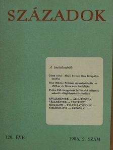 Beke Kata - Századok 1986/2. [antikvár]