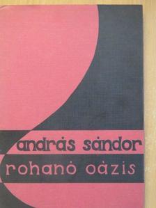 András Sándor - Rohanó oázis [antikvár]