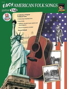 WALLACH, HOWARD - EASY AMERICAN FOLK SONGS - A COLLECTION OF POPULAR TRADITIONAL TUNES - WITH CD