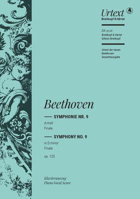 BEETHOVEN - SYMPHONIE NR.9 d-MOLL FINALE OP.125, KLAVIERAUSZUG