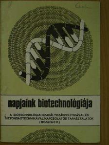 Bálint Tibor - Napjaink biotechnológiája [antikvár]
