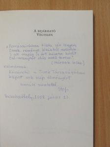 Balázs Tibor - A bejárható Végtelen (dedikált példány) [antikvár]
