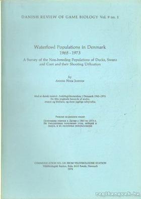 Joensen, Holm Anders - Waterfowl Populations in Denmark 1965-1973 [antikvár]