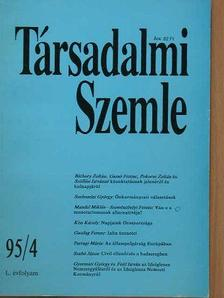 Gazdag Ferenc - Társadalmi Szemle 1995. április [antikvár]