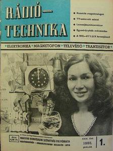 Buzsik Pál - Rádiótechnika 1980. (nem teljes évfolyam) [antikvár]