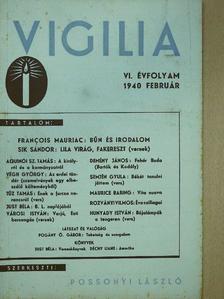 Demény János - Vigilia 1940. február [antikvár]