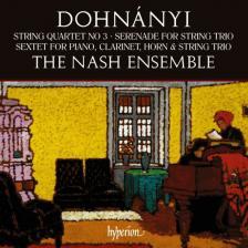DOHNÁNYI - STRING QUARTET NO 3 CD THE NASH ENSEMBLE