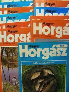Deák János - Magyar Horgász 1985. január-december [antikvár]