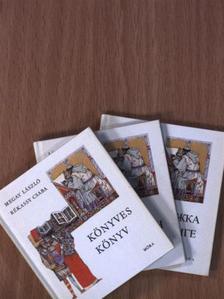 Megay László - Könyves könyv (minikönyv)/Buch vom Buch (minikönyv)/Könyves könyv (orosz nyelvű) (minikönyv) [antikvár]