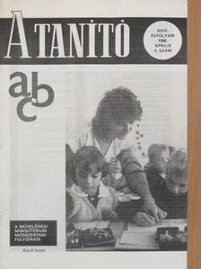 Ambrus András - A Tanító 1986. április [antikvár]