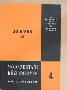 Doma Ferencné - Módszertani közlemények 1990/4. [antikvár]