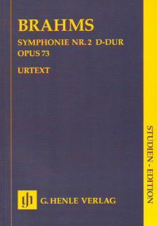 BRAHMS... - SYMPHONIE NR.2 D-DUR OP.73 STUDIENPARTITUR URTEXT (PASCALL / STRUCK)