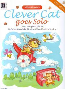 CORNOCK, MIKE - CLEVER CAT GOES SOLO, EASY SOLO PIANO PIECES