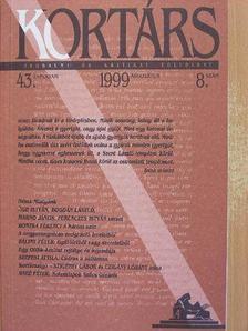 Ágh István - Kortárs 1999. augusztus [antikvár]